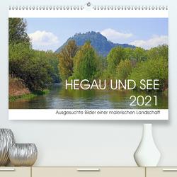 Hegau und See (Premium, hochwertiger DIN A2 Wandkalender 2021, Kunstdruck in Hochglanz) von Horstkötter,  Christian