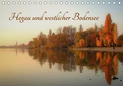 Hegau und westlicher Bodensee (Tischkalender 2021 DIN A5 quer) von Horn,  Christine