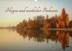Hegau und westlicher Bodensee (Wandkalender 2021 DIN A3 quer) von Horn,  Christine