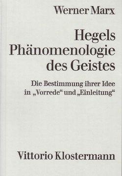 Hegels Phänomenologie des Geistes von Marx,  Werner