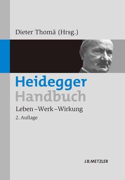 Heidegger-Handbuch von Grosser,  Florian, Meyer,  Katrin, Schmid,  Hans Bernhard, Thomä,  Dieter