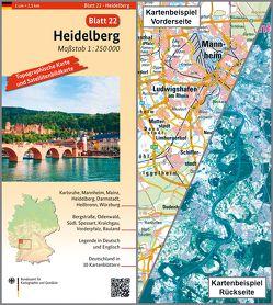 Heidelberg von BKG - Bundesamt für Kartographie und Geodäsie