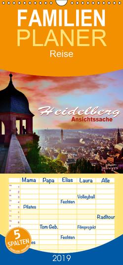 Heidelberg – Ansichtssache – Familienplaner hoch (Wandkalender 2019 , 21 cm x 45 cm, hoch) von Bartruff,  Thomas