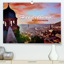 Heidelberg – Ansichtssache (Premium, hochwertiger DIN A2 Wandkalender 2021, Kunstdruck in Hochglanz) von Bartruff,  Thomas