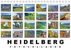 Heidelberg Fotocollagen (Tischkalender 2019 DIN A5 quer) von Liepke,  Claus