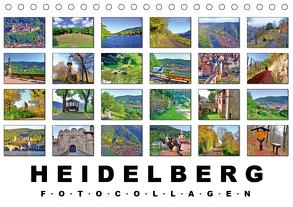 Heidelberg Fotocollagen (Tischkalender 2020 DIN A5 quer) von Liepke,  Claus