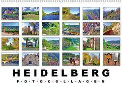Heidelberg Fotocollagen (Wandkalender 2019 DIN A2 quer) von Liepke,  Claus