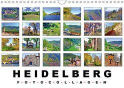 Heidelberg Fotocollagen (Wandkalender 2019 DIN A4 quer) von Liepke,  Claus