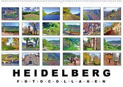 Heidelberg Fotocollagen (Wandkalender 2021 DIN A2 quer) von Liepke,  Claus