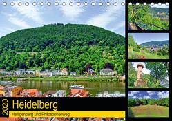 Heidelberg – Heiligenberg und Philosophenweg (Tischkalender 2020 DIN A5 quer) von Liepke,  Claus