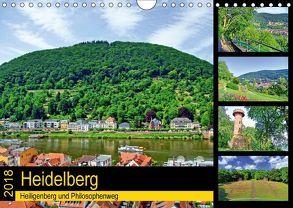 Heidelberg – Heiligenberg und Philosophenweg (Wandkalender 2018 DIN A4 quer) von Liepke,  Claus