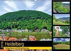 Heidelberg – Heiligenberg und Philosophenweg (Wandkalender 2019 DIN A2 quer) von Liepke,  Claus