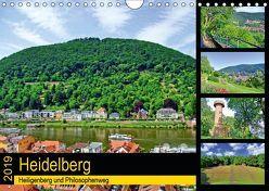 Heidelberg – Heiligenberg und Philosophenweg (Wandkalender 2019 DIN A4 quer) von Liepke,  Claus