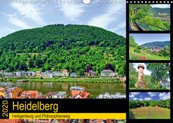Heidelberg – Heiligenberg und Philosophenweg (Wandkalender 2020 DIN A3 quer) von Liepke,  Claus