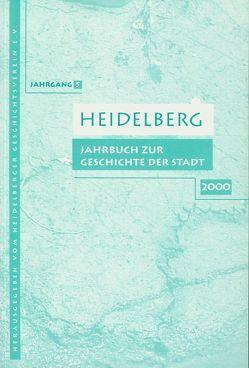 Heidelberg. Jahrbuch zur Geschichte der Stadt von Bahls,  Dietrich, Becker,  Rose von, Benner,  Petra