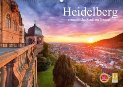 Heidelberg – romantische Stadt am Neckar (Wandkalender 2019 DIN A2 quer) von Christopher Becke,  Jan