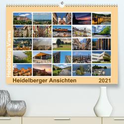 Heidelberg Views – Heidelberger Ansichten (Premium, hochwertiger DIN A2 Wandkalender 2021, Kunstdruck in Hochglanz) von Seethaler Fotografie,  Thomas