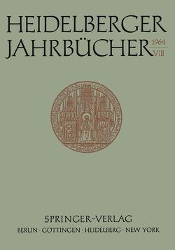 Heidelberger Jahrbücher von Ernst,  Fritz