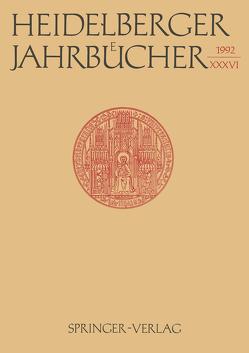 Heidelberger Jahrbücher von Wiehl,  Reiner
