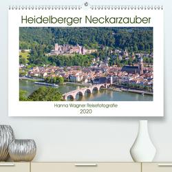 Heidelberger Neckarzauber (Premium, hochwertiger DIN A2 Wandkalender 2020, Kunstdruck in Hochglanz) von Wagner,  Hanna