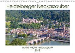 Heidelberger Neckarzauber (Wandkalender 2019 DIN A4 quer) von Wagner,  Hanna