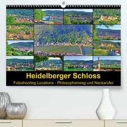 Heidelberger Schloss Fotoshooting Locations (Premium, hochwertiger DIN A2 Wandkalender 2021, Kunstdruck in Hochglanz) von Liepke,  Claus