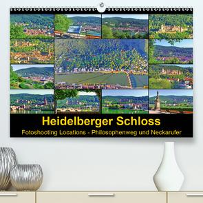 Heidelberger Schloss Fotoshooting Locations (Premium, hochwertiger DIN A2 Wandkalender 2020, Kunstdruck in Hochglanz) von Liepke,  Claus