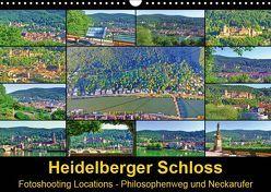 Heidelberger Schloss Fotoshooting Locations (Wandkalender 2019 DIN A3 quer) von Liepke,  Claus