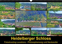 Heidelberger Schloss Fotoshooting Locations (Wandkalender 2020 DIN A3 quer) von Liepke,  Claus