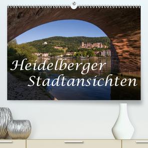 Heidelberger Stadtansichten (Premium, hochwertiger DIN A2 Wandkalender 2020, Kunstdruck in Hochglanz) von Matthies,  Axel