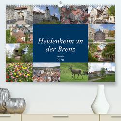 Heidenheim an der Brenz (Premium, hochwertiger DIN A2 Wandkalender 2020, Kunstdruck in Hochglanz) von kattobello