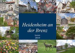 Heidenheim an der Brenz (Wandkalender 2019 DIN A4 quer) von kattobello