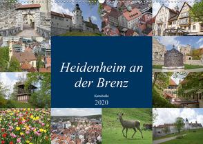 Heidenheim an der Brenz (Wandkalender 2020 DIN A2 quer) von kattobello