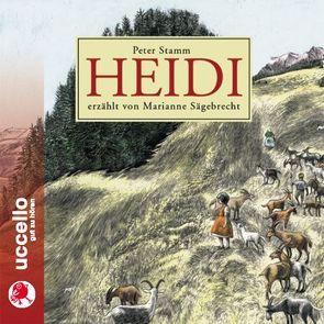 HEIDI von Sägebrecht,  Marianne, Stamm,  Peter