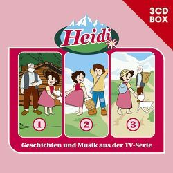 Heidi (Classic) / Heidi (Classic) – 3CD Hörspielbox Vol. 1 von Spyri,  Johanna, Wagner,  Andrea