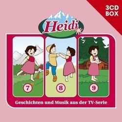 Heidi (Classic) / Heidi (Classic) – 3CD Hörspielbox Vol. 3 von Spyri,  Johanna, Wagner,  Andrea