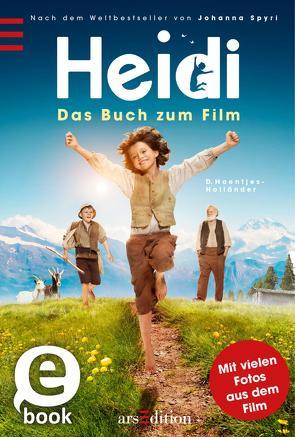 Heidi – Das Buch zum Film von Haentjes-Holländer,  Dorothee