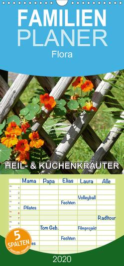 Heil- und Küchenkräuter – Familienplaner hoch (Wandkalender 2020 , 21 cm x 45 cm, hoch) von Geduldig,  Bildagentur