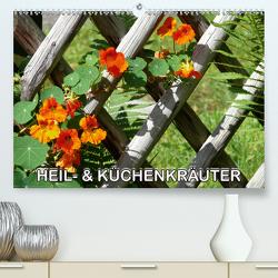 Heil- und Küchenkräuter (Premium, hochwertiger DIN A2 Wandkalender 2020, Kunstdruck in Hochglanz) von Geduldig,  Bildagentur
