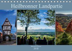 Heilbronner Landpartie (Tischkalender 2018 DIN A5 quer) von Drews,  Marianne