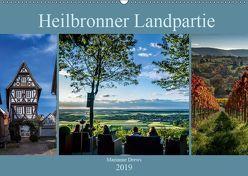 Heilbronner Landpartie (Wandkalender 2019 DIN A2 quer) von Drews,  Marianne