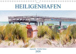 Heiligenhafen in Aquarell (Wandkalender 2020 DIN A4 quer) von Meier,  Wiebke