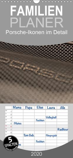 Heiligs Blechle – Porsche-Ikonen im Detail – Familienplaner hoch (Wandkalender 2020 , 21 cm x 45 cm, hoch) von Schürholz,  Peter