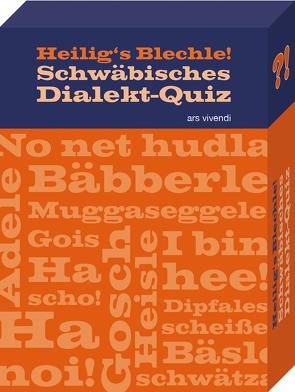Heiligs Blechle! Schwäbisches Dialekt-Quiz