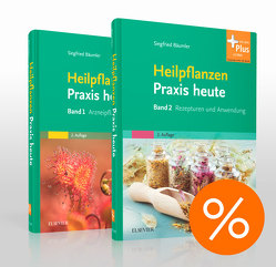 Heilpflanzenpraxis heute Bd. 1 und Bd. 2, Paket von Bäumler,  Siegfried