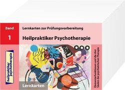 Heilpraktiker Psychotherapie – 200 Lernkarten Elementarfunktionen und die drei Säulen der psychiatrischen Therapie (Teil 1) von Mery,  Marcus