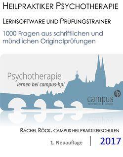 Heilpraktiker Psychotherapie – Lernsoftware und Prüfungstrainer von Röck,  Rachel