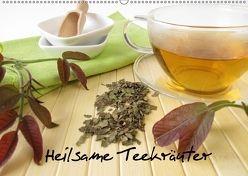 Heilsame Teekräuter (Wandkalender 2018 DIN A2 quer) von Rau,  Heike