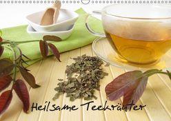 Heilsame Teekräuter (Wandkalender 2019 DIN A3 quer) von Rau,  Heike