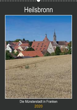 Heilsbronn – Die Münsterstadt in Franken (Wandkalender 2020 DIN A2 hoch) von Endres Fotodesign,  Harald